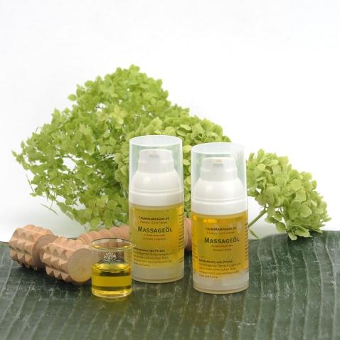 Massage und Körperöl